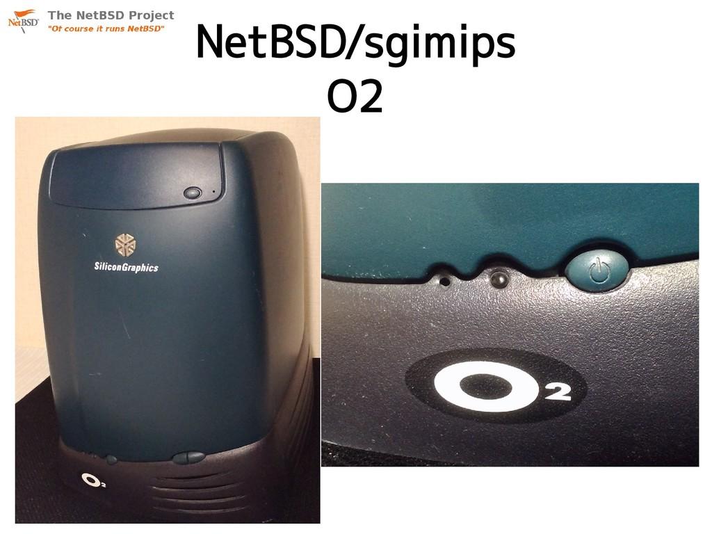 NetBSD/sgimips O2