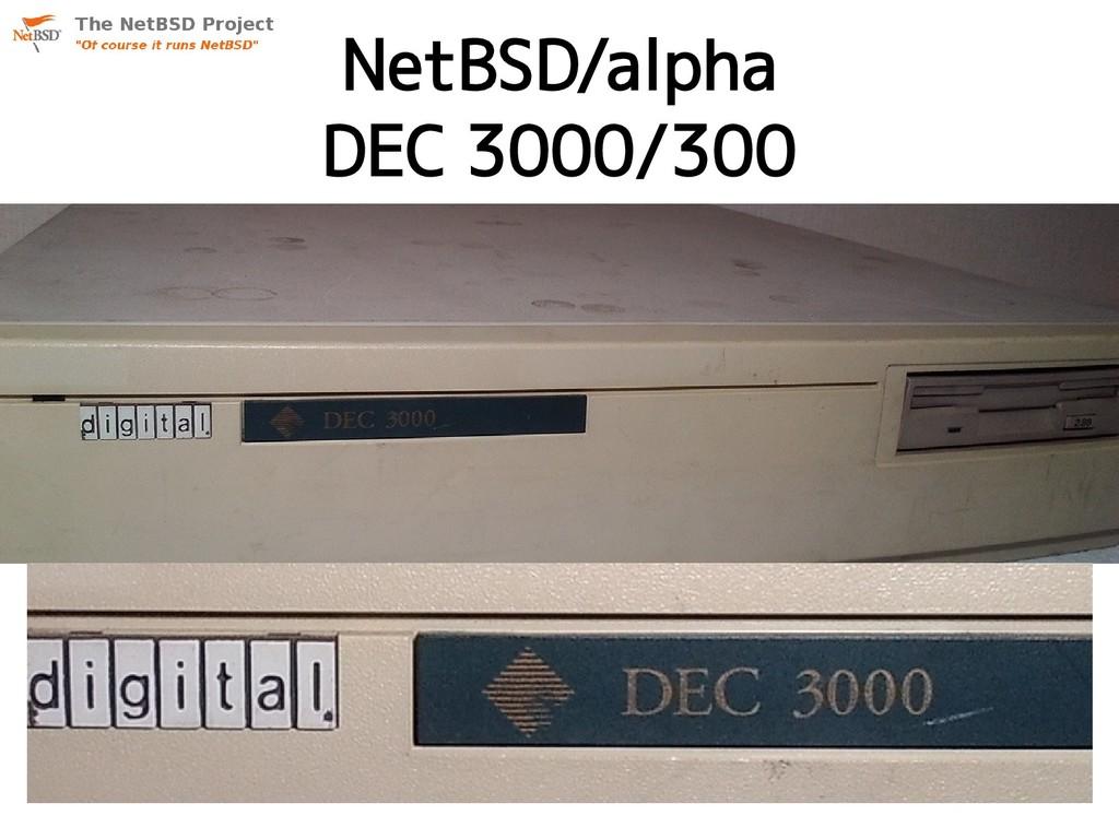 NetBSD/alpha DEC 3000/300