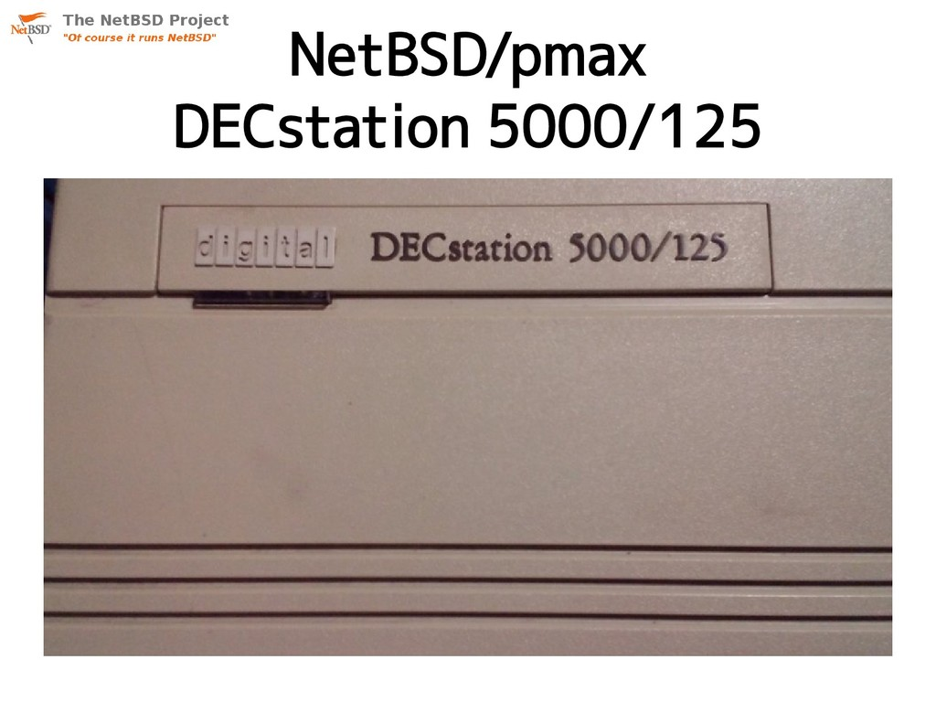 NetBSD/pmax DECstation 5000/125