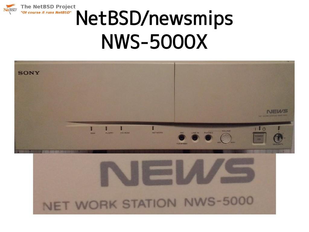 NetBSD/newsmips NWS-5000X