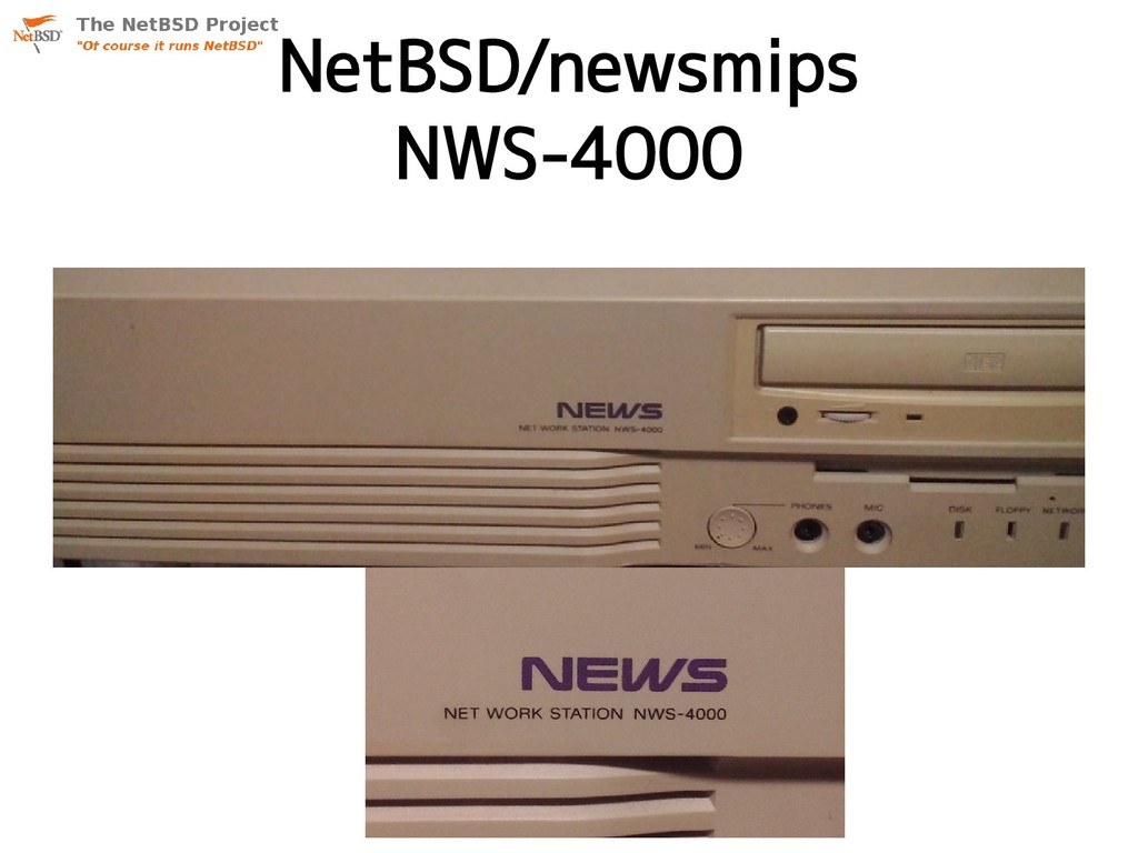 NetBSD/newsmips NWS-4000