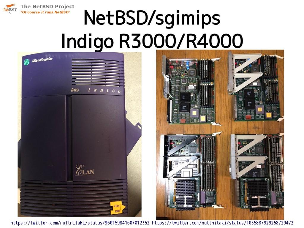 NetBSD/sgimips Indigo R3000/R4000 https://twitt...