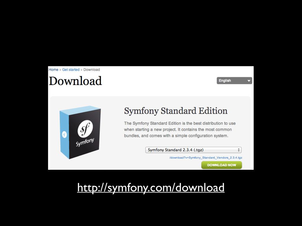 http://symfony.com/download