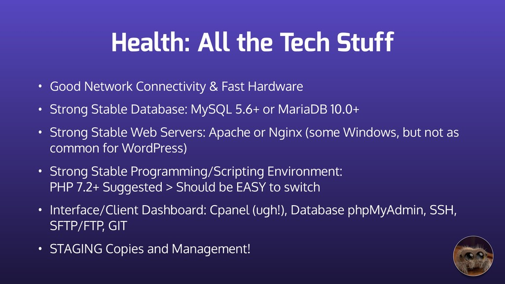 Health: All the Tech Stuff • Good Network Conne...