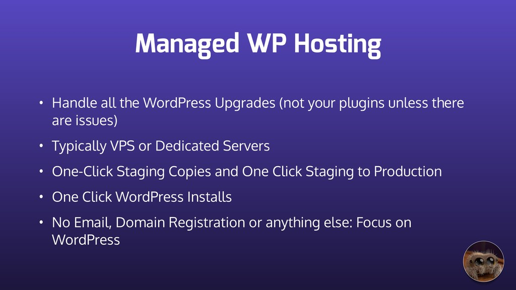 Managed WP Hosting • Handle all the WordPress U...