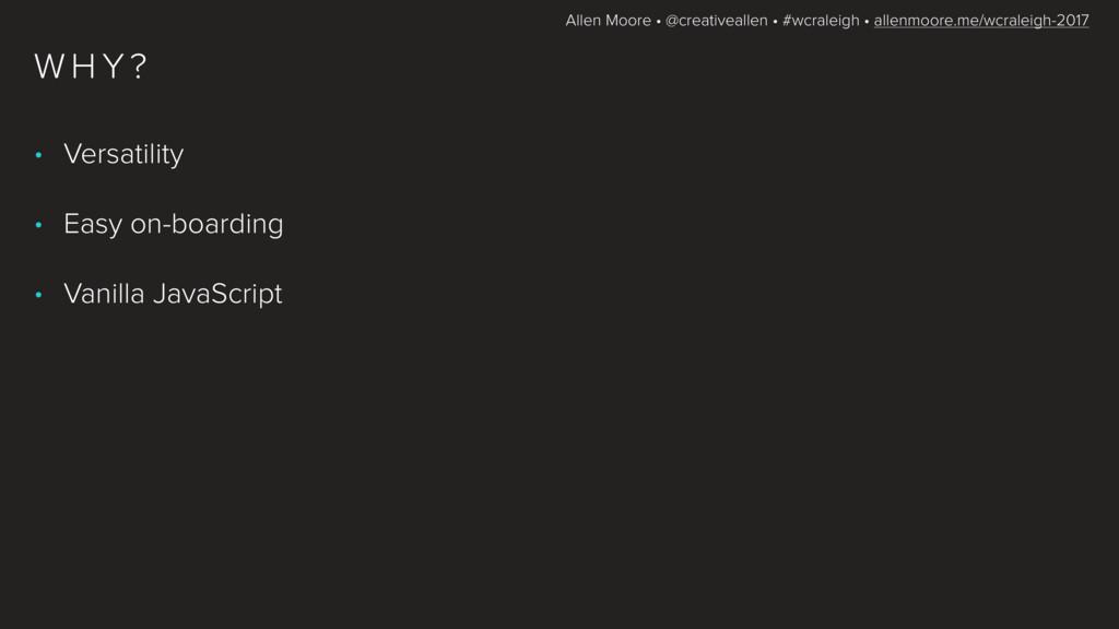Allen Moore • @creativeallen • #wcraleigh • all...