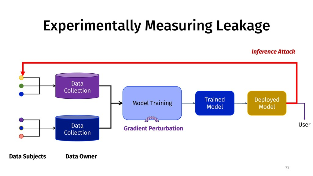 Experimentally Measuring Leakage 73 Data Subjec...