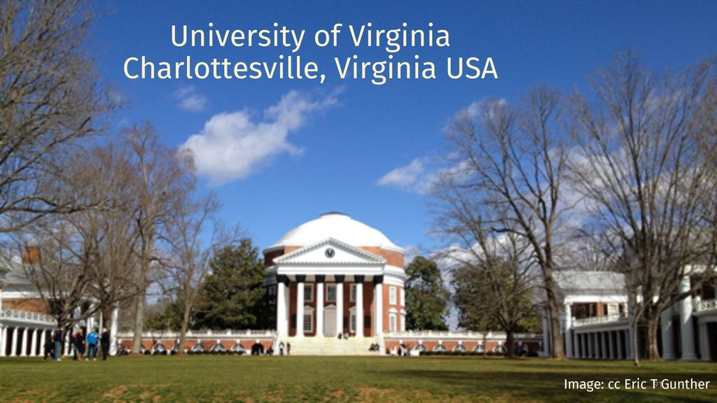 University of Virginia Charlottesville, Virgini...