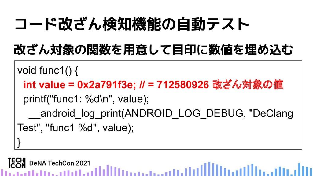 void func1() { int value = 0x2a791f3e; // = 712...
