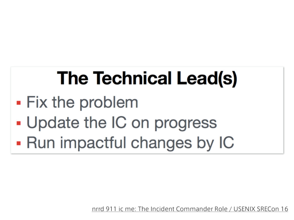 nrrd 911 ic me: The Incident Commander Role / U...