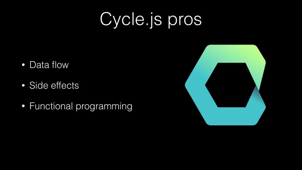 • Data flow • Side effects • Functional programm...