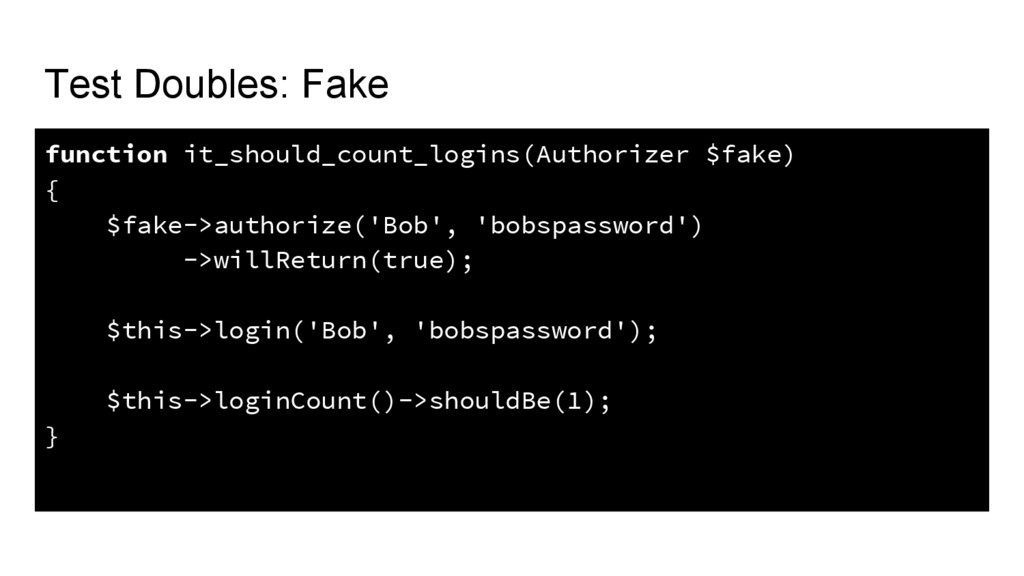 Test Doubles: Fake function it_should_count_log...
