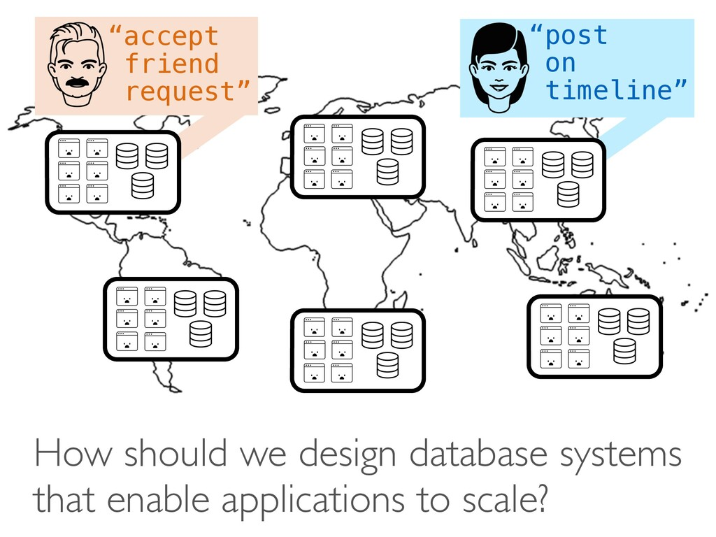 How should we design database systems that enab...