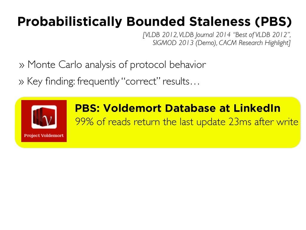 """[VLDB 2012, VLDB Journal 2014 """"Best of VLDB 201..."""