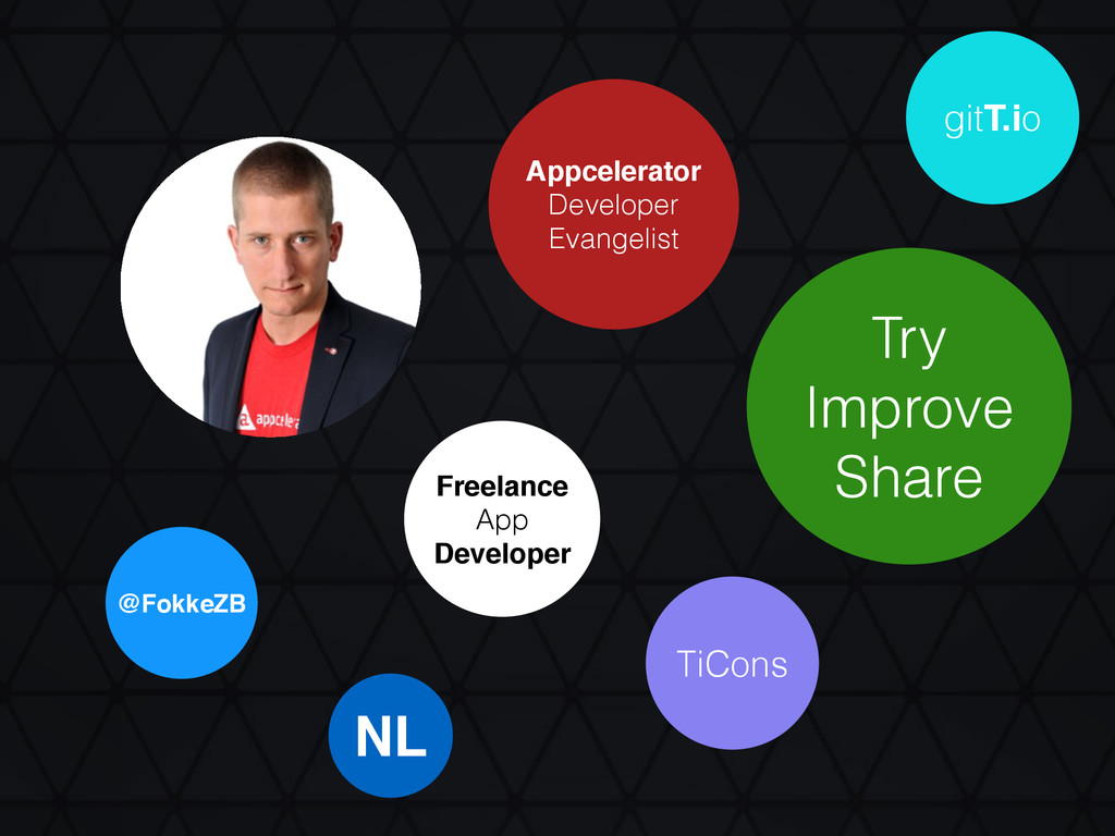 Appcelerator Developer Evangelist @FokkeZB NL F...