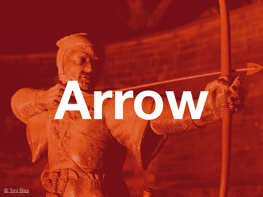 Arrow © Toni Blay