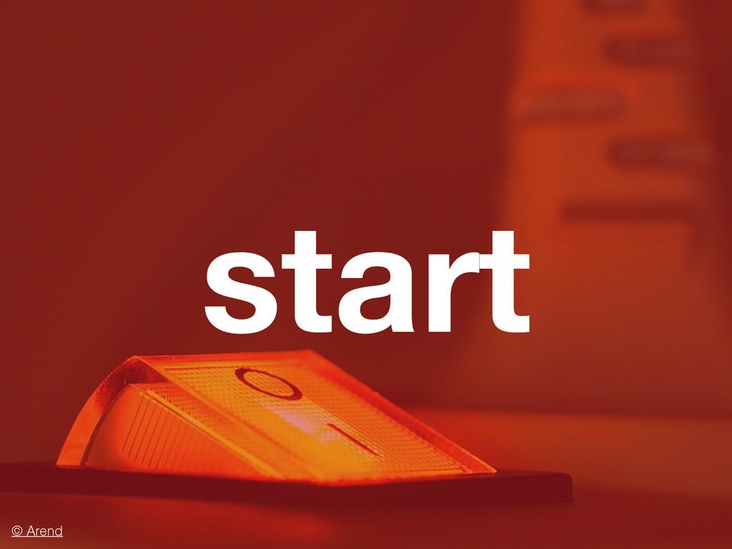 start © Arend
