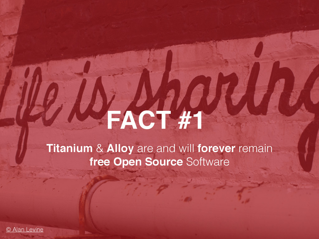 FACT #1 © Alan Levine Titanium & Alloy are and ...