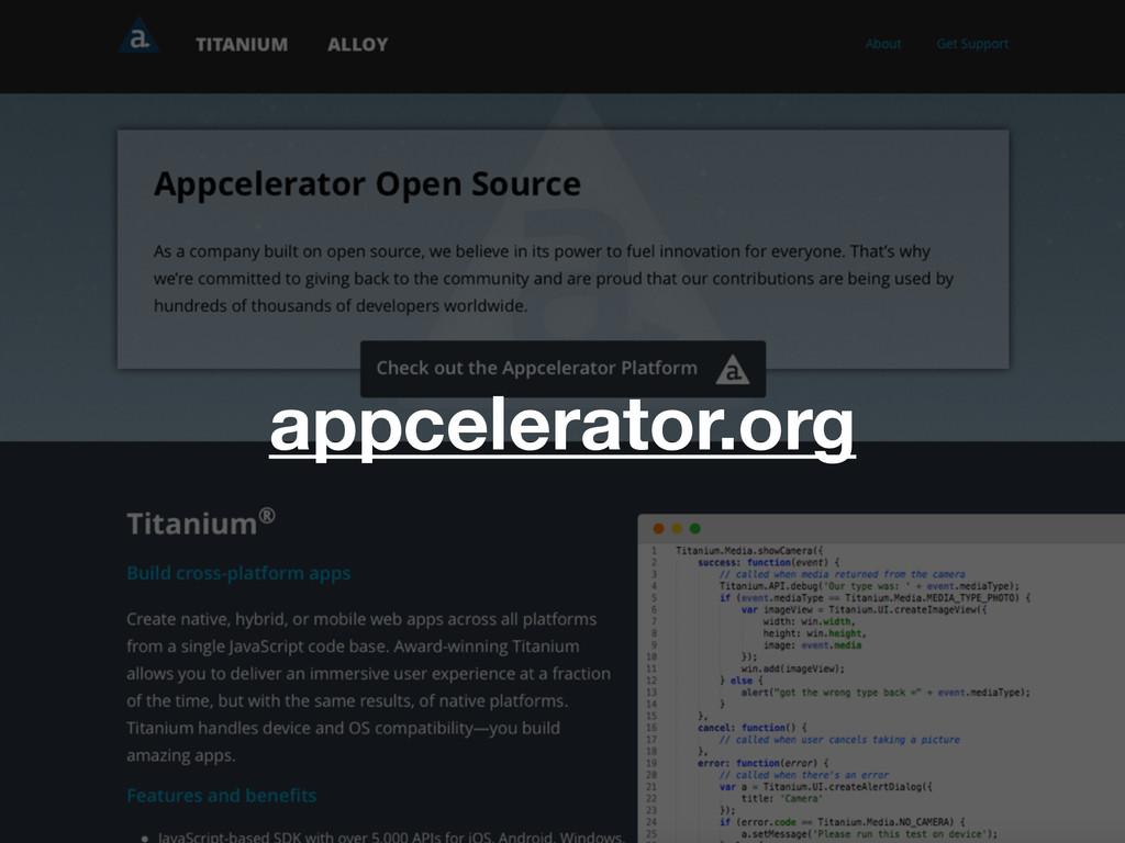 appcelerator.org