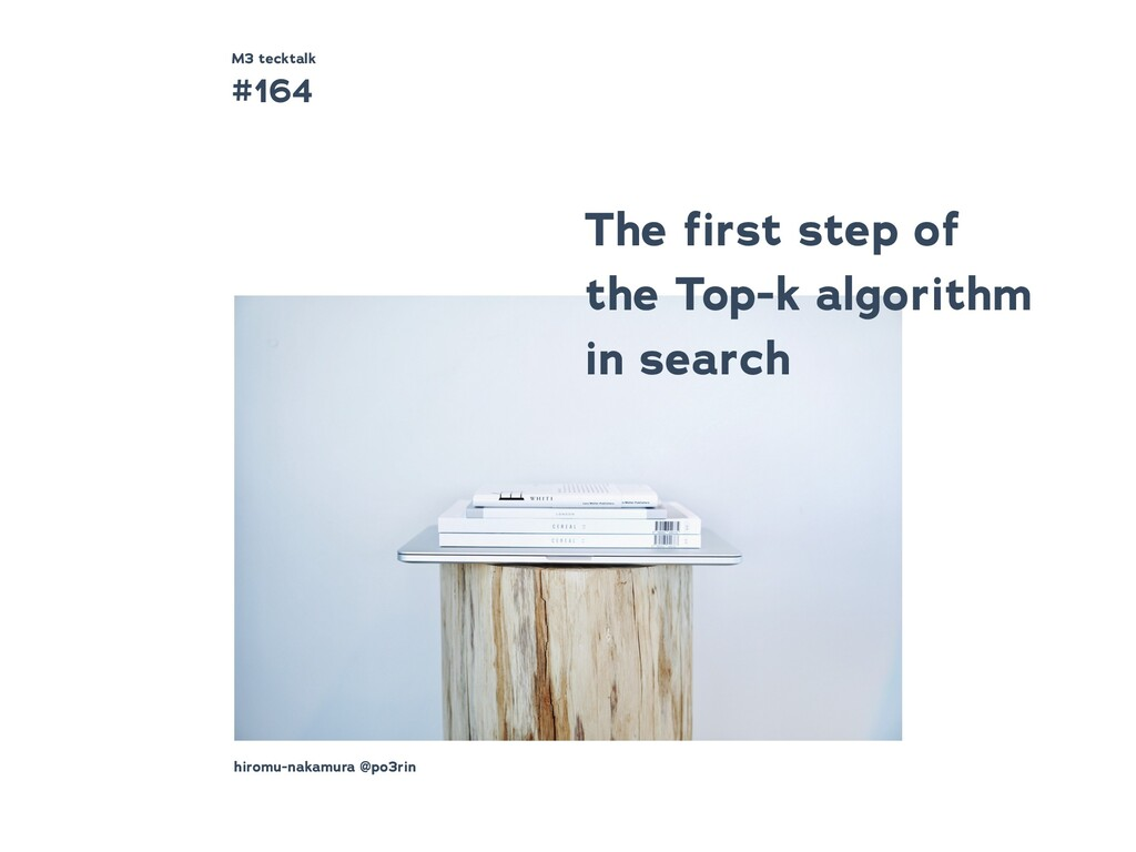 The first step of the Top-k algorithm in search ...