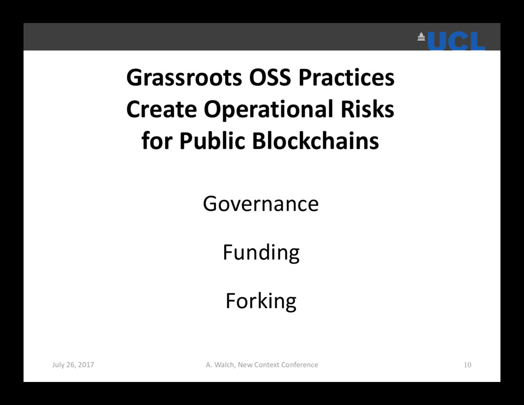Grassroots OSS Practices Create Operational Ris...