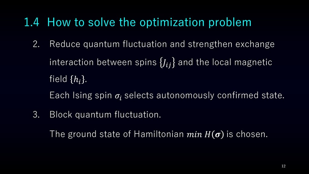 2. Reduce quantum fluctuation and strengthen ex...