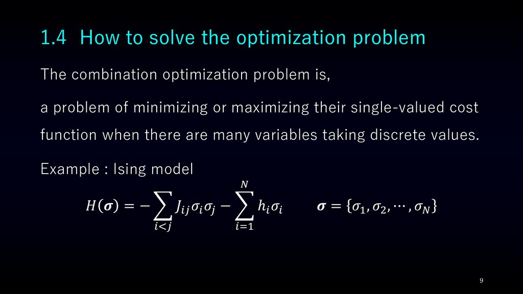 The combination optimization problem is, a prob...