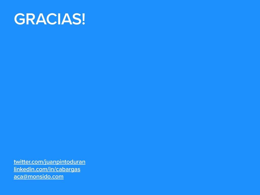GRACIAS!   twitter.com/juanpintoduran   linkedi...