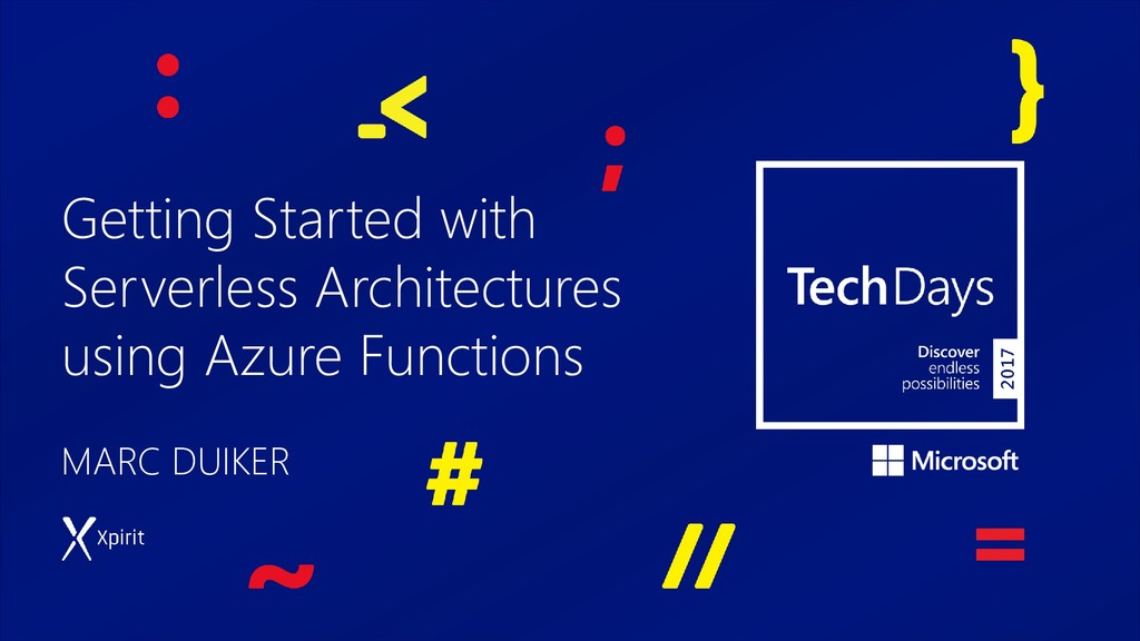 Getting Started with Serverless Architectures u...