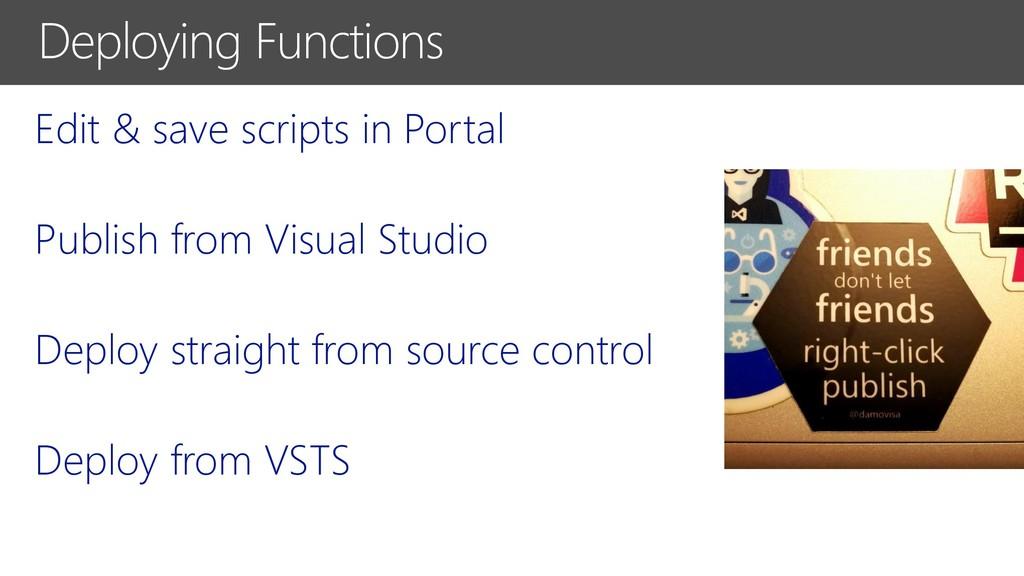 Edit & save scripts in Portal Publish from Visu...