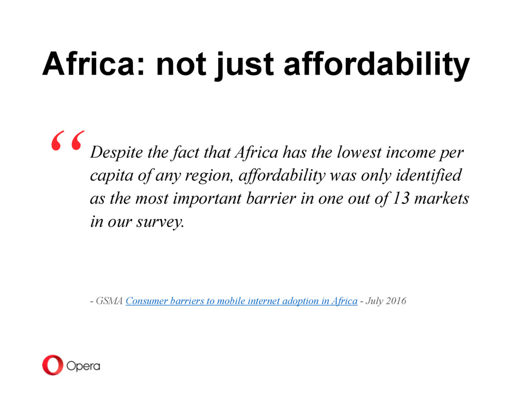Despite the fact that Africa has the lowest inc...