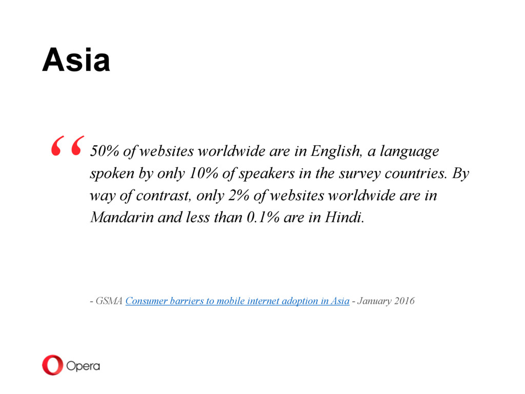 50% of websites worldwide are in English, a lan...