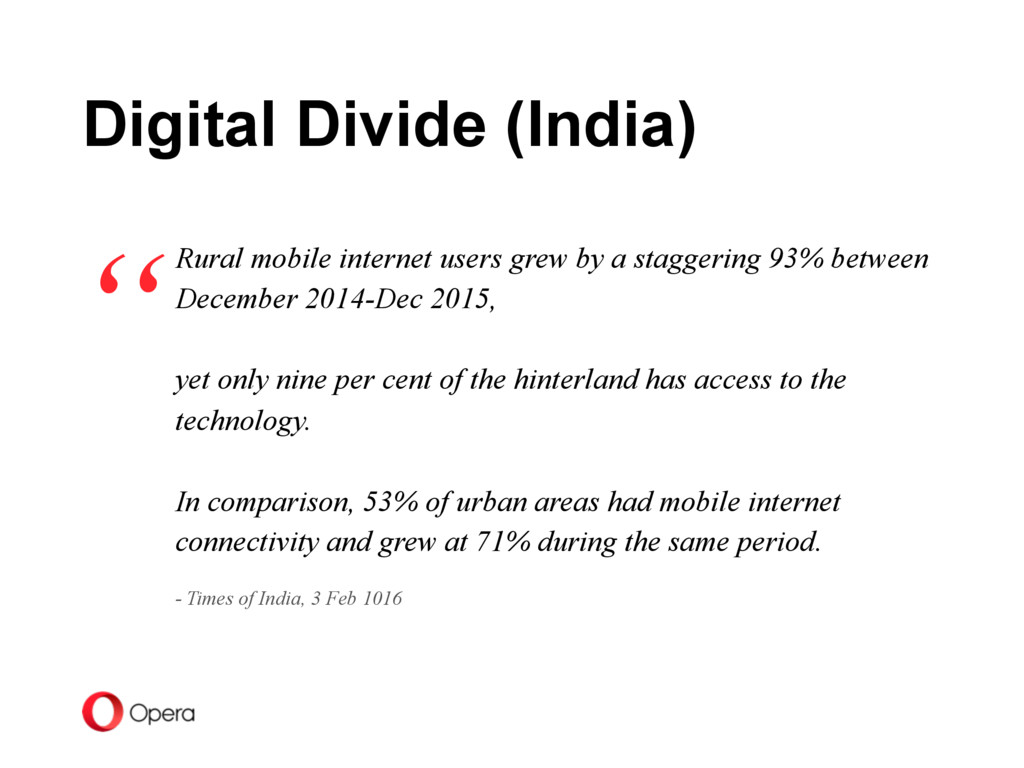 Rural mobile internet users grew by a staggerin...
