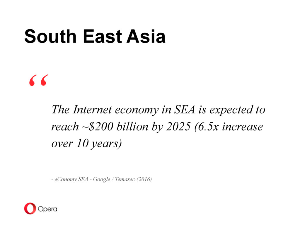 The Internet economy in SEA is expected to reac...