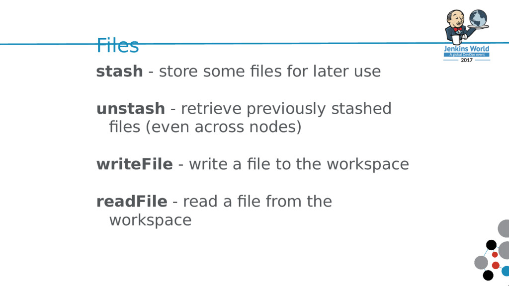 Files stash - store some files for later use un...