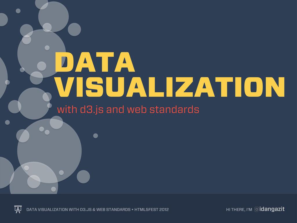 @idangazit HI THERE, I'M DATA VISUALIZATION WIT...