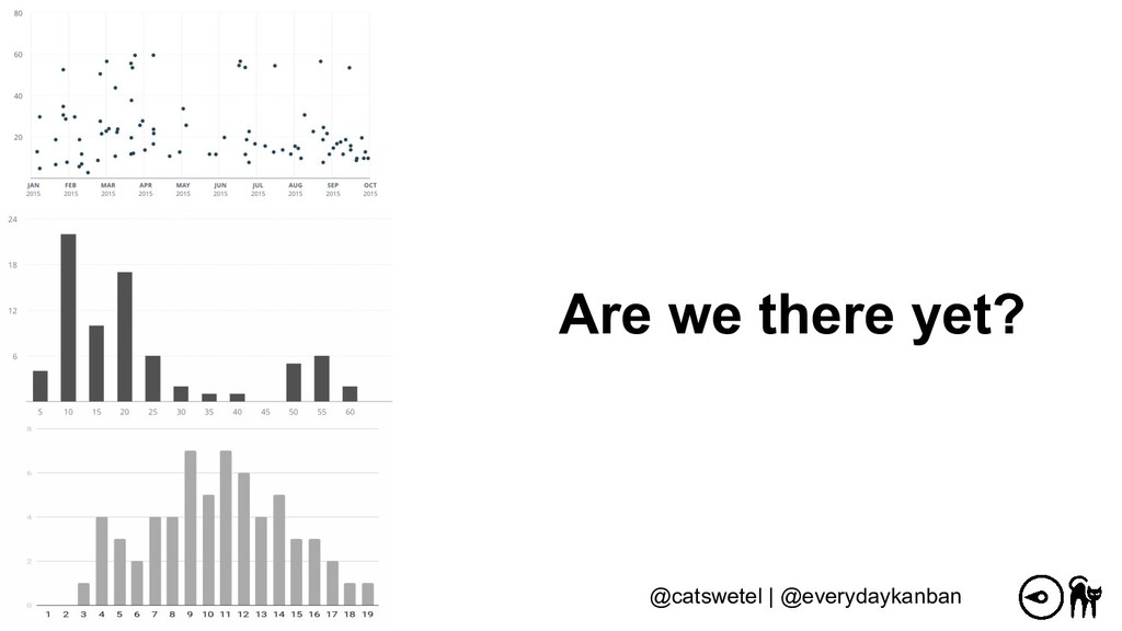 Are we there yet? @catswetel | @everydaykanban