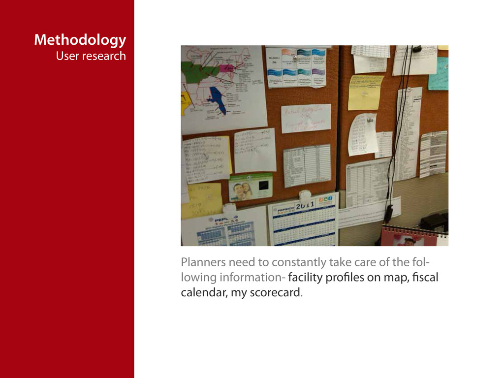 Methodology User research Planners need to cons...