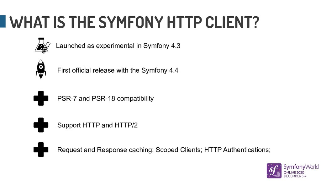 WHAT IS THE SYMFONY HTTP CLIENT? Launched as ex...