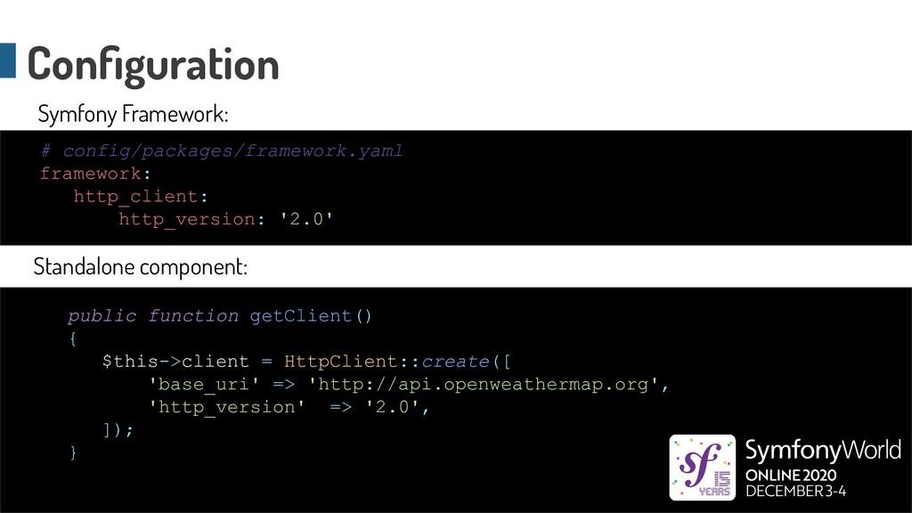 # config/packages/framework.yaml framework: htt...