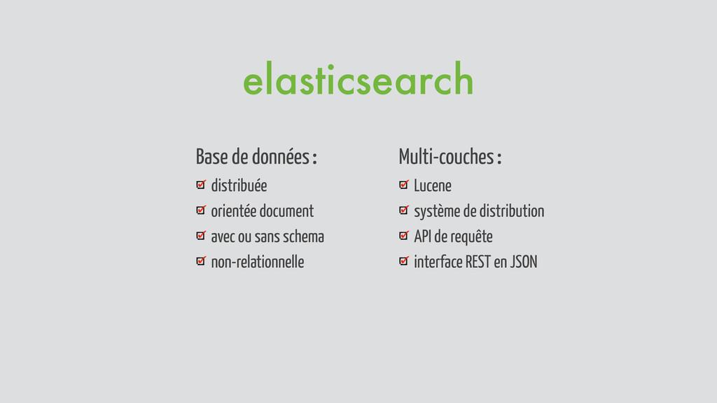 Base de données : distribuée orientée document ...