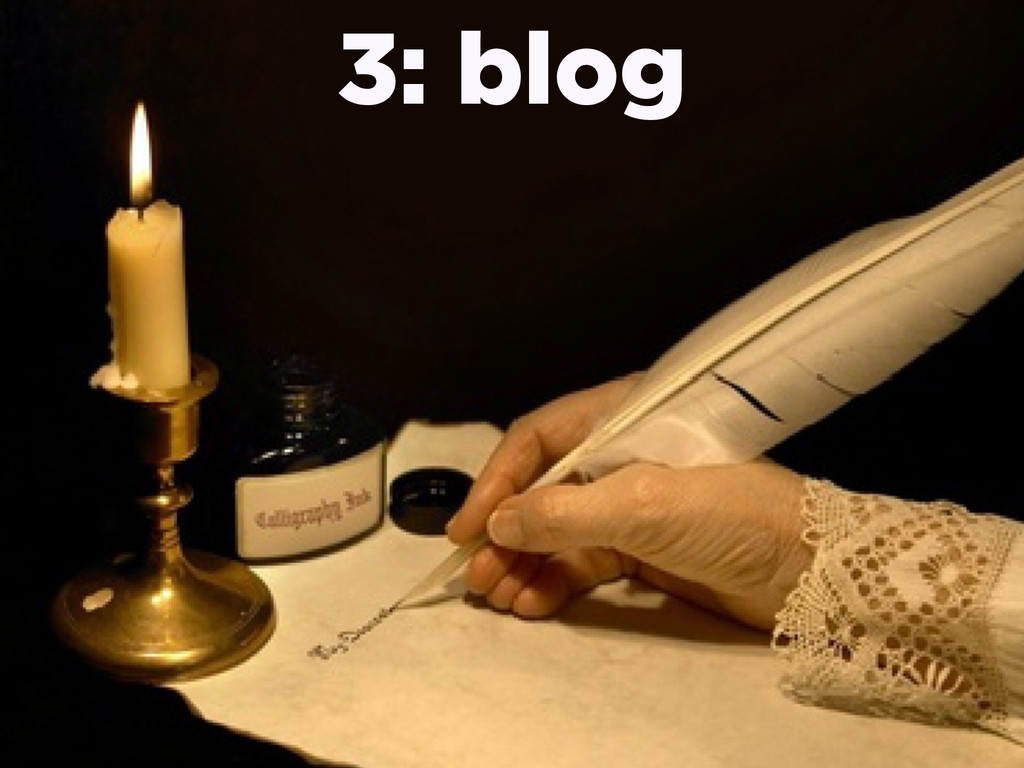 3: blog