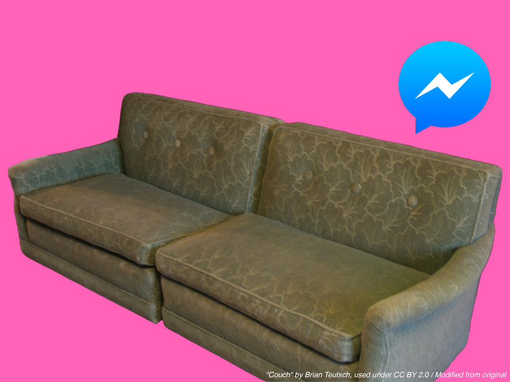 """""""Couch"""" by Brian Teutsch, used under CC BY 2.0 ..."""