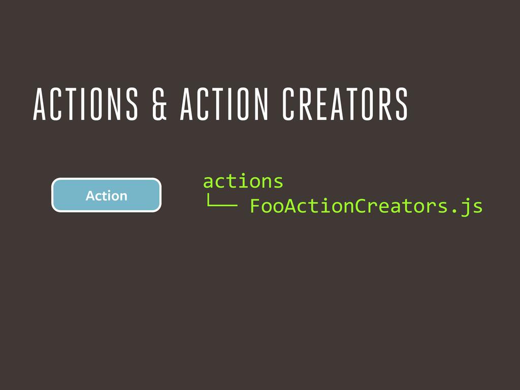 actions  └── FooActionCreators.js Action ...