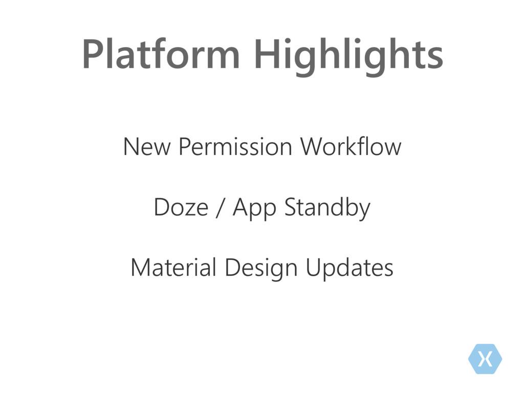 Platform Highlights New Permission Workflow Doz...