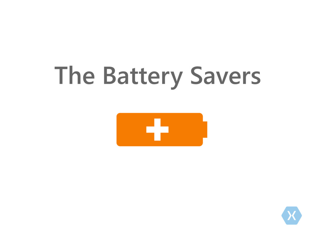The Battery Savers