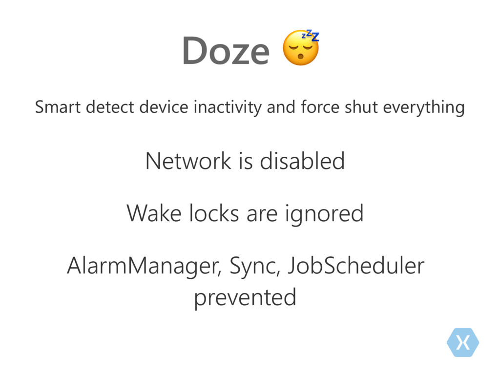 Doze  Smart detect device inactivity and force ...