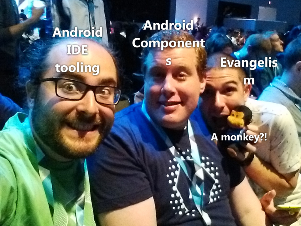 Android IDE tooling Android Component s Evangel...