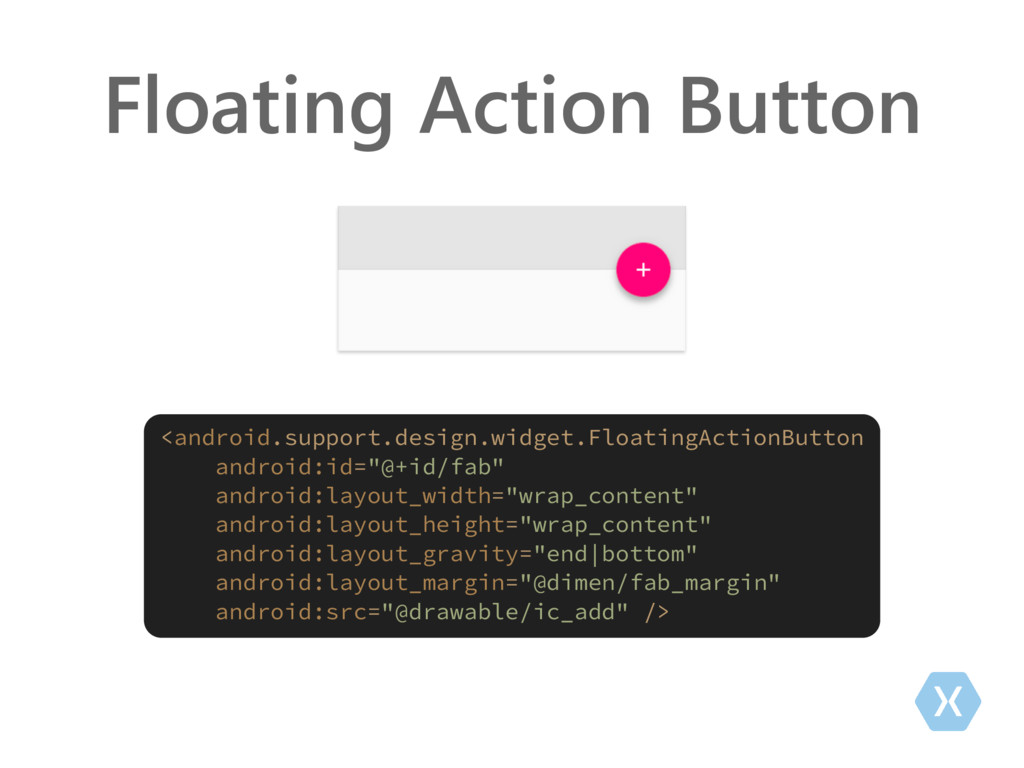 Floating Action Button <android.support.design....