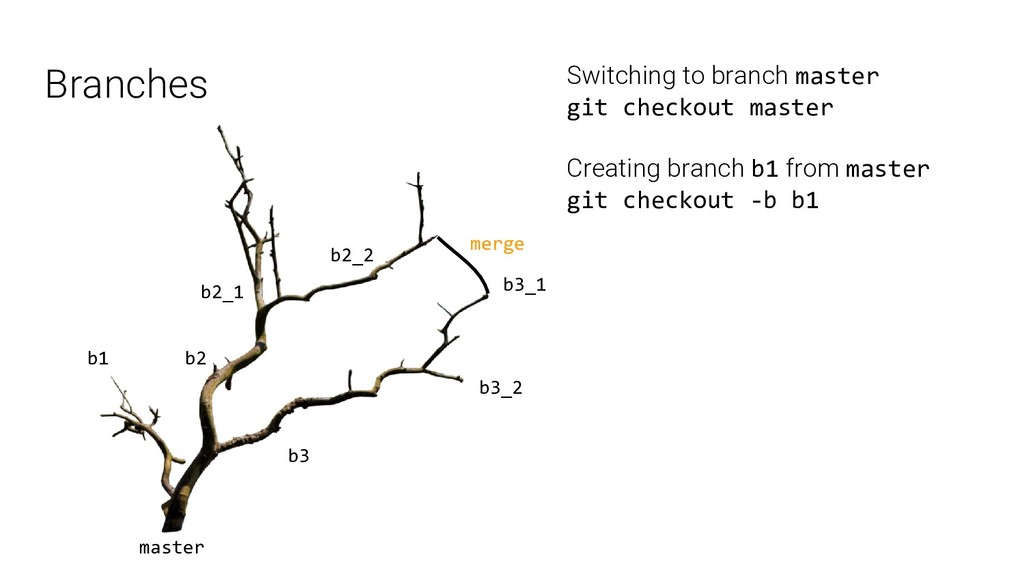 Branches master b1 b2 b3 b3_1 b3_2 b2_1 b2_2 me...